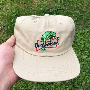 Vintage 90's Budweiser Dad Hat Snapback